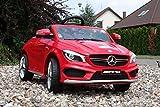 Babycar 450R–Elektrisches Auto für Kinder Mercedes CLA 45AMG Full Optional mit Fernbedienung, 12V, rot