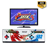Wisamic Real Pandora Box 5 2 giocatori Joystick Arcade Console con 960 giochi arcade 1280 * 720 Full HD, supporto completo PS3