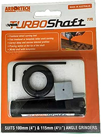 ARBORTECH TURBOSHAFT - FREEHAND POWER CARVING TOOL - fits all standard 4