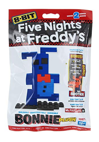 Five Nights at Freddy's 8-Bit Buildable Figure: Plush Bonnie