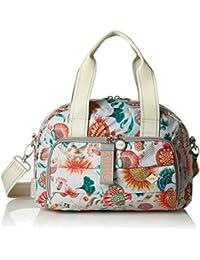 Ruffles Sunflower Backpack Svz, Womens Handbag, White (Offwhite), 9x26x22 cm (B x H T) Oilily