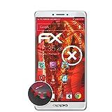 atFolix Schutzfolie passend für Oppo R7 Plus Folie, entspiegelnde & Flexible FX Bildschirmschutzfolie (3X)