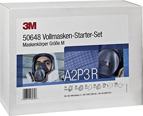 3M VOLLMASKEN Kit de démarrage Vert Taille M