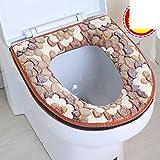 WAYER Tappetino,Di copertura del sedile del water pad del cuscino -J