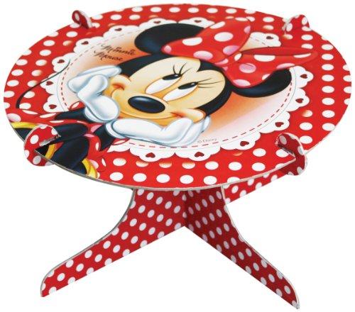Maus Kuchenständer, rot (Rote Minnie Maus Ballons)