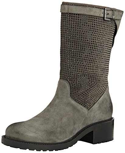 SPM Folli 3/4 Boot, Stivali classici imbottiti a mezza gamba donna, Grigio (Grau (Dk Grey 006/Dk Grey 006)), 41