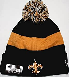 New Orleans Saints New Era 2013 Sideline On Field Sport Knit Hat - Graphite