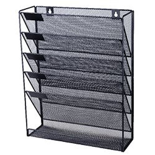 o-d-mesh-wall-literature-holder-5-a4-compartments-black