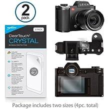 Leica SL (typ-601) pellicola protettiva, ® [Boxwave Cleartouch cristallo (pezzi)] HD pellicola di protezione–protegge da graffi per Leica SL (typ-601)