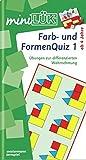 miniLÜK / Kindergarten / Vorschule: miniLÜK: Farb- und Formenquiz 1: Dr. Fitmacher für Vorschulkinder und Erstklässler