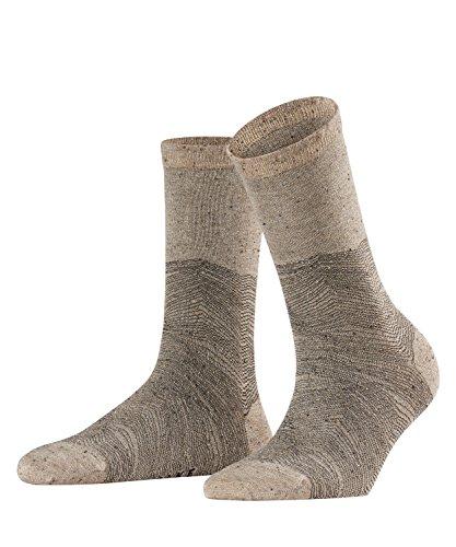 FALKE Tweed-Material mit Glanz im Grund