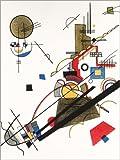 Poster 30 x 40 cm: Fröhlicher Aufstieg von Wassily Kandinsky - Hochwertiger Kunstdruck, Kunstposter