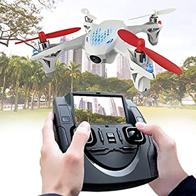 Hubsan X4 H501S 5.8G FPV Brushless with 1080P Camera? Flying radius: 300±20 (omnidirectional)