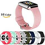 Correa de repuesto para Apple Watch, Chok Idea Pure Color Style de silicona suave transpirable para Apple Watch Series 1, Series 2, Series 3,38 mm/42 mm, 9 colores