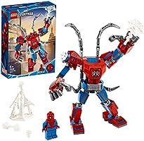 LEGO Super Heroes Il Mech di Spider-Man Set di Costruzioni per Bambini, con la Minifigure di SpiderMan e Ragnatela...