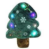 Die besten Kissenbezug Weihnachtsschmuck - LED Weihnachten Kopfkissen, kakiblin Weihnachtsbaum 27,9x 35,6cm Luminous Bewertungen