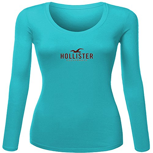 hollister logo Printed For Ladies Womens Long Sleeves Outl