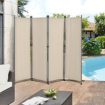 outdoor trennwand 170 x 215cm paravent sichtschutz spanische wand garten. Black Bedroom Furniture Sets. Home Design Ideas