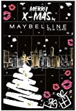 Maybelline New York - Advent Calendar Calendario dell'Avvento 2019 - Merry X-Mas