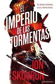 El imperio de las tormentas par Jon Skovron