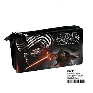 Disney Star Wars Estuche Color Negro & ampUacutenica (52711