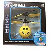 WYXlink Infrared Sensor Hand Induced Flight Emoji Flying Helicopter Balls RC Drone Toys (b)