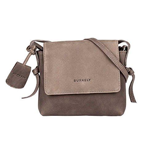 Burkely LENA X-OVER FLAP BAG Umhängetasche -Dunkel GREY