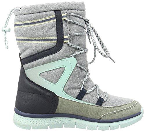 O'Neill Zephyr Snowjogger Lt Melee Textile, Chaussures Neige Botte femme Gris - Grau (Light Grey Melee K97)