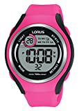 Lorus Reloj Digital para Mujer de Cuarzo con Correa en Silicona R2383LX9