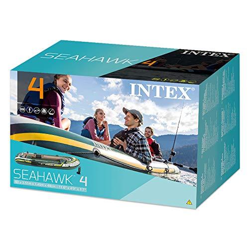 Intex Schlauchboot Seahawk 4 Set im Test - 6