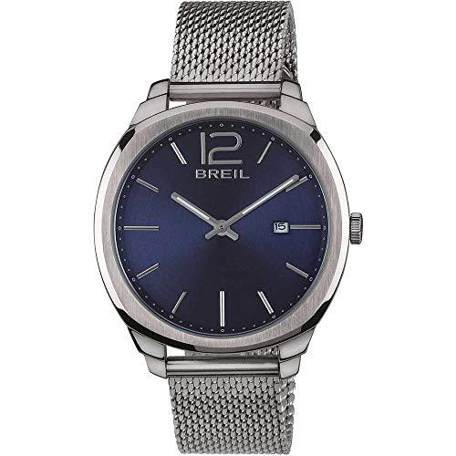 Breil Reloj Analógico para Hombre de Cuarzo con Correa en Acero Inoxidable TW1714