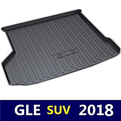 Kofferraumwanne Teppich Kofferraummatte Trunk Liner Bodenmatte Tray Floor Carpet für Mercedes-Benz GLE SUV 2018 Jahr TPO Material