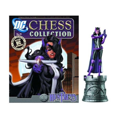 Eaglemoss DC Chess Figure & Collector Magazine #21 Huntress White Rook