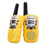 PRIKIM Walkie Talkies per i bambini radio a 2 vie a 3 canali a...