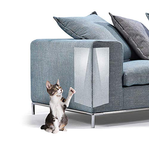 Kostüm Ziel Mal - Oncpcare Möbelschutz Couch Guard Crystal Sofa Shield Katze Kratzschutz Pad Hund Pfotenabwehr Pfosten Abwehr Pfosten mit Stift oder Selbstklebende Pad für Polster, Leder, Stühle, Liege, Holzmöbel