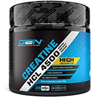 Creatine HCL 4500 - 320 Kapseln - 4500 mg pro Tagesportion - Optimale Creatin Verbindung - Kreatin Hydrochlorid... preisvergleich bei fajdalomcsillapitas.eu