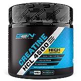 Creatine HCL 4500 - 320 Kapseln - 4500 mg pro Tagesportion - Optimale Creatin Verbindung - Kreatin Hydrochlorid - gesteigerte Aufnahme - Für Bodybuilder & Sportler - Premium Qualität