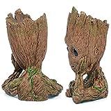 vaso da fiori a forma di simpatico personaggio, portapenne, idea regalo perfetta per il Natale dei bambini