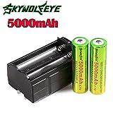 2 x Akku 18650 Batterie