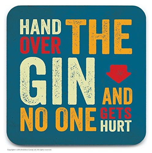 Neuheit 'Hand über die Gin Getränke Untersetzer ()