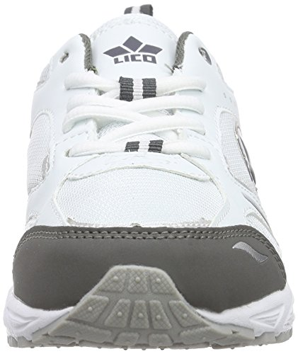 Lico - Marvin, Sneakers per bambini e ragazzi Bianco (Weiss/grau)