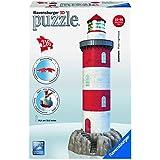 Ravensburger - 12565 - Puzzle 3D Building - 216 Pièces - Phare Nouvelle Édition