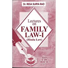Lectures on Family Law - I (Hindu Law)