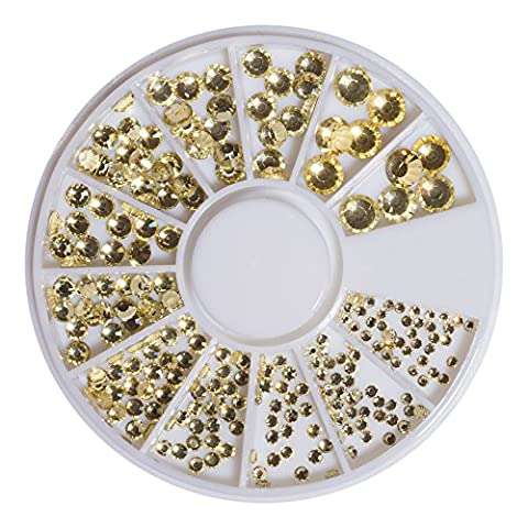 Strass en cristal or Jonquil SS6–41098SS20240pièces