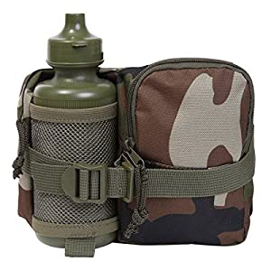 51QRwKLWoXL. SS300  - Kids Army Camouflage Waist Bag & Waterbottle - Includes Army Drinks Water Bottle