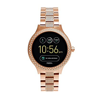 Fossil Venture Analog-Digital Black Dial Women's Watch – FTW6008