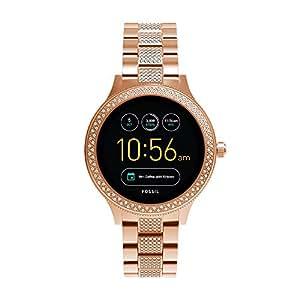 Fossil Venture Analog-Digital Black Dial Women's Watch - FTW6008