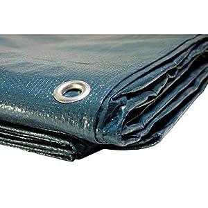 Telone di copertura per piscina 150g/m², telone impermeabile per piscina, 5 x 8 m