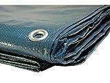 Bâche piscine 150 g/m² - 6 x 10 m - couverture piscine - bache imperméable - baches piscine