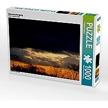 Sonnenuntergang 1000 Teile Puzzle quer: Tagesausklang (CALVENDO Natur)